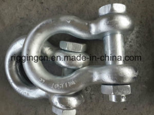 Hot Sale Chinese Cheap Price Good Qualitygalvanized Us Hot Forged Safety Bow Shackle with Nut G2130 pictures & photos