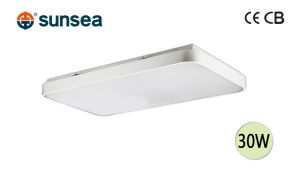 LED Ceiling Lamp 30W Private Mode Aluminum Frame with CB