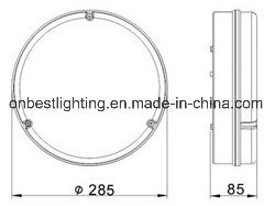 PC Light 38W Ceiling Light in IP65 pictures & photos