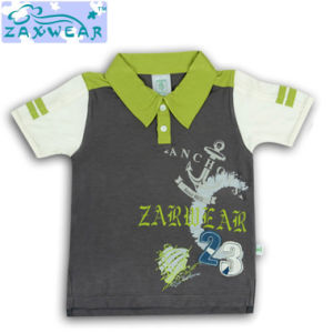 Zaxwear New Product for 2014 T-Shirt Baby Boy T-Shirt Casual Style pictures & photos