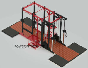 Combo Rack, Hammer Strength Combo Rack, Hammer Strength Full Rack & Dual Pulley pictures & photos