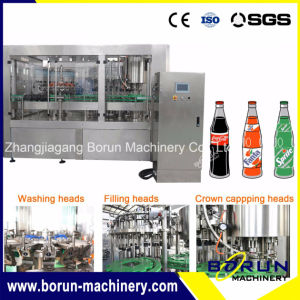 Carbonated Soft Drinks (CSD) Bottled Beverage Filling Machine Factory pictures & photos