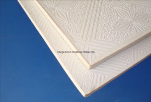PVC Laminated Gypsum Ceiling Tiles, China Manufacturer pictures & photos