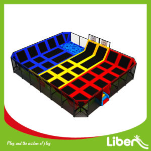 Liben Professional Trampoline with Foam Pit for Teenager pictures & photos