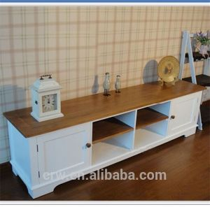 OA-4086 Morden White Solid Oak TV Cabinet pictures & photos