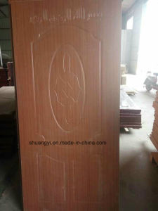 Custom High Quality PVC Wood Door for Arab Market pictures & photos