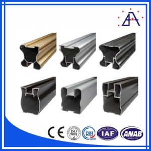 Different Finish Aluminum/Aluminium Extrusion Profile pictures & photos