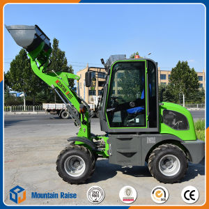European Hot-Sales Design 800kg Mini Wheel Loader with Various Attachments pictures & photos