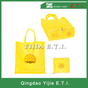 Non Woven Zippered Folding Tote Bag pictures & photos