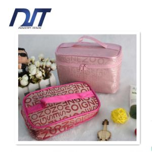 Travel Portable Letter Cosmetic Bag Professional Waterproof Foldable Washing Suitcase