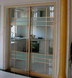 Energy! Efficient Aluminium Sliding Door (BHA-DF13) pictures & photos