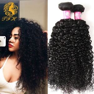 Malaysian Kinky Curly Hair Malaysian Virgin Hair Malaysian Hair Weave 4 Bundles 7A Unprocessed Kinky Curly Virgin Hair Extension pictures & photos