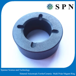 Anisotropic Ferrite Ring Magnet Sintered Core for Motor pictures & photos