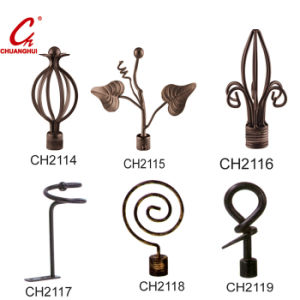 Window Curtain Iron Decoriate Cap pictures & photos