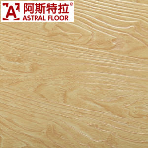 Popular Style 12mm Registered Embossed Surface Laminate Flooring (AT001) pictures & photos