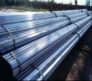 Pre-Galvanized Flat Oval Steel Pipe/115X42mm Steel Tube pictures & photos