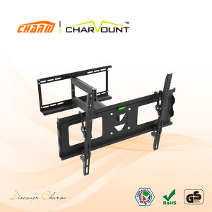Full Motion Universal LED LCD Flat Panel TV Wall Mount for Most 32′′-70′′ Screens (CT-WPLB-902) pictures & photos