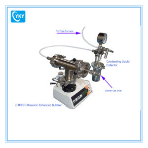 Ultrasonic Enhanced Bubbler (Particle Generator) with Condensing Liquid Collector pictures & photos