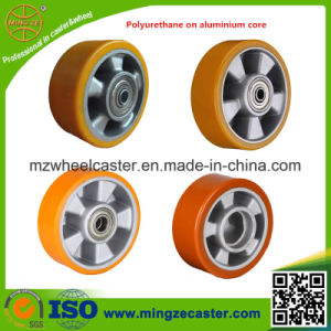 European Type Polyurethane Mold on Aluminium Core Wheels and Castors pictures & photos