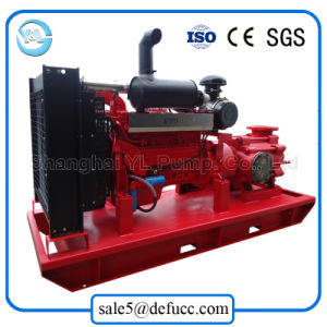 Portable Diesel Centrifugal Multistage Water Pump by China Supplier pictures & photos