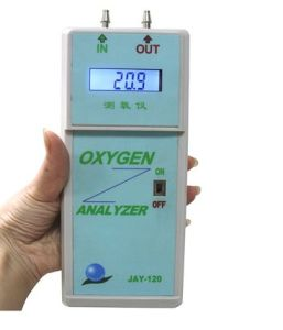 Medical Oxygen Analyzer/Medical Oxygen Analyzer/New Oxygen Concentrator Analyzer Jay-120 pictures & photos