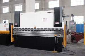 CNC Electrohydraulic Press Brake Machine, Electro-Hydraulic Servo Press Brake pictures & photos