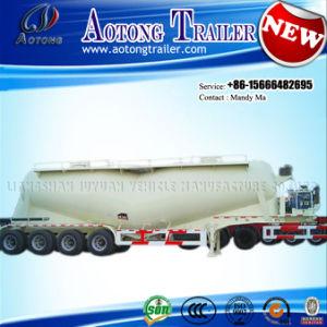 4 Axles 70cbm Cement Bulker Tanker Truck Semi Trailer pictures & photos