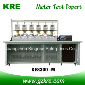 Class 0.02 6 Position Three Phase Meter Test Bench pictures & photos