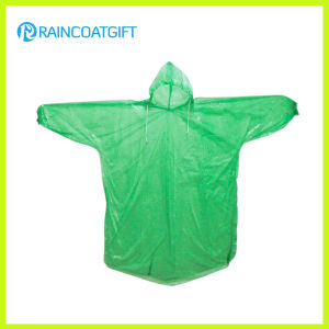 Cheap Disposable Sleeve PE Raincoat Rpe-061 pictures & photos