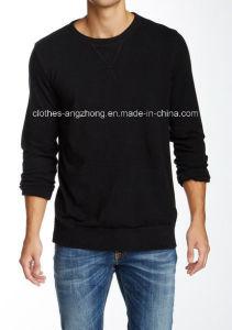 Fashion Cotton Long Sleeve Men′s Polo Shirt (AZMP-02)