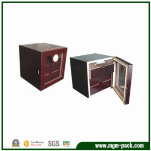 Hot Sale Wooden Display Cigar Cabinet with Drawer pictures & photos