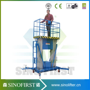 8m 10m Working Lift Aluminum Lift Platform Aerial Working Platform pictures & photos