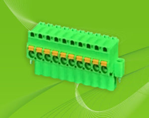 Spring Pluggable Terminal Blocks with Side Screws pictures & photos