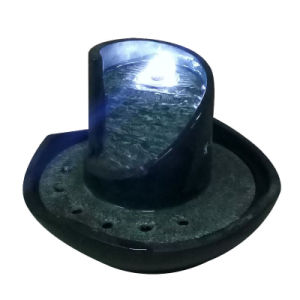 Small Size Poly Resin Tabletop Fountain with Light pictures & photos
