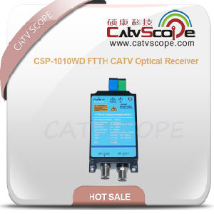 Csp-1010wd FTTH CATV 2output Optical Receiver AGC pictures & photos