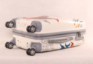 Printing ABS/PC Trolley Luggage Suitcase pictures & photos