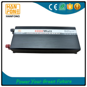 Single Phase DC/AC Inverter Popular with Intelligent Cooling Fan 4kw pictures & photos