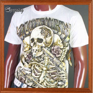 Custom Printing 100% Cotton 3D T-Shirts pictures & photos