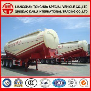 38cbm Bulk Cement Tanker Semi Trailer Concrete Powder Tank Trailer pictures & photos