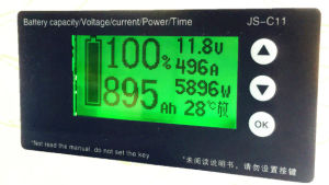 Universual Coulomb Meter Battery Fuel Gauge pictures & photos