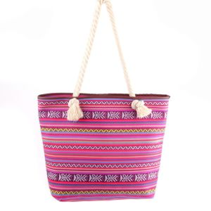 New Fashion Promotion Canvas Women Mujer Mochila Escolar Feminina Retro Vintage National Ethnic Shoulder Leisure Beach Bag GS122969-3 pictures & photos