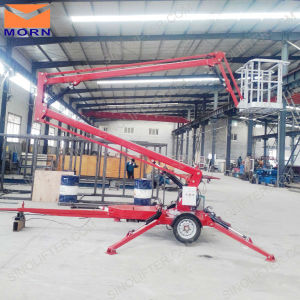 14m Narrow Cherry Picker for Trimming pictures & photos