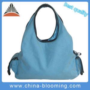 Leisure Ladies Handbag Canvas Shopping Shoulder Hand Bag pictures & photos