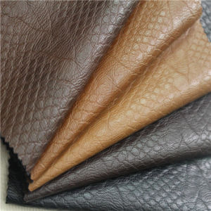 Enbossed PU Artificial Leather for Man Jacket (WSTX-EP75130)