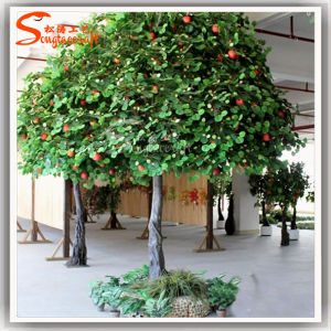 China home decoration decorative artificial fruit apple for Apple tree decoration