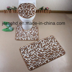 High-End Design 3piece Bath Toilet Rug Set pictures & photos