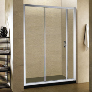 Sliding Door Small Glass Shower Enclosures with Tempered Glass pictures & photos