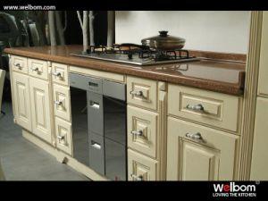 Welbom Luxury PVC Custom Kitchen Cabinet pictures & photos