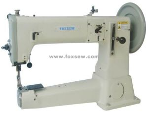 Cylinder Bed Compound Feed Lockstitch Sewing Machine for Bags pictures & photos