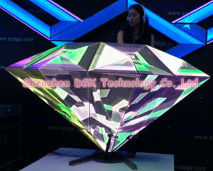 Diamond DJ Booth for Night Club LED Display